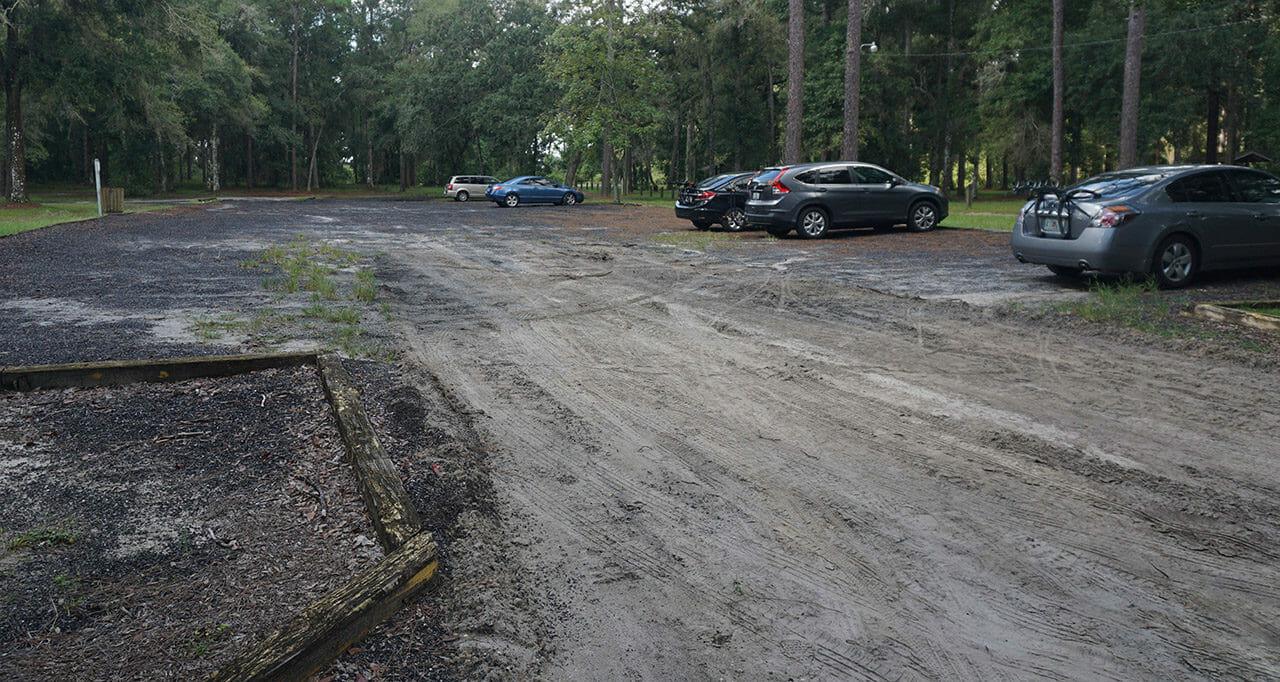 Lake Townsen Preserve parking