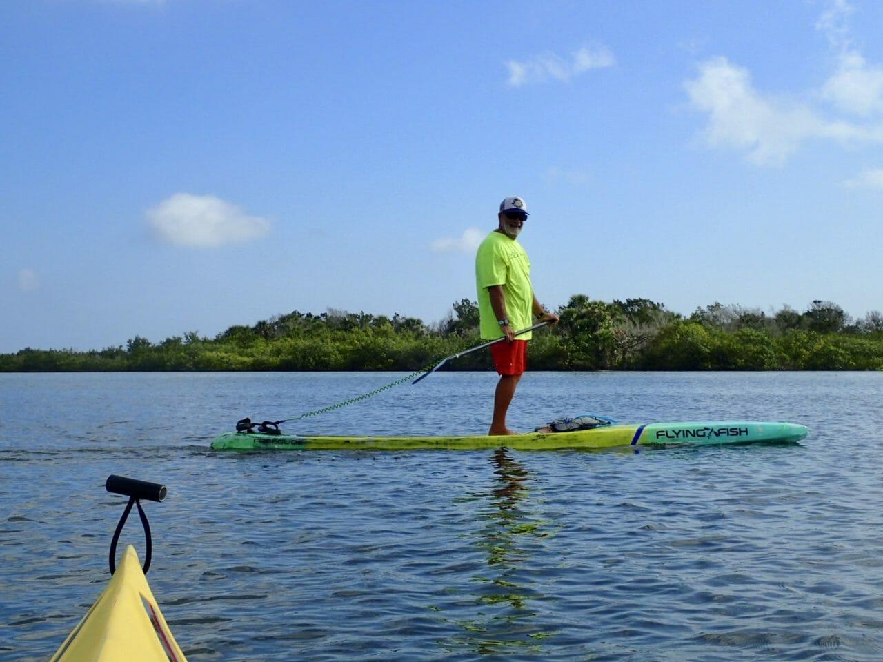 Paddling Mosquito Lagoon