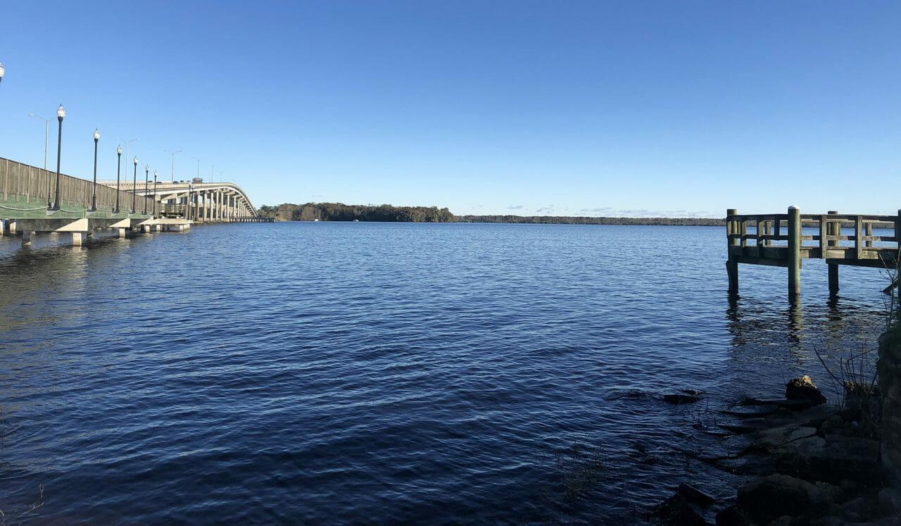 Launch point at Palatka Riverfront Park