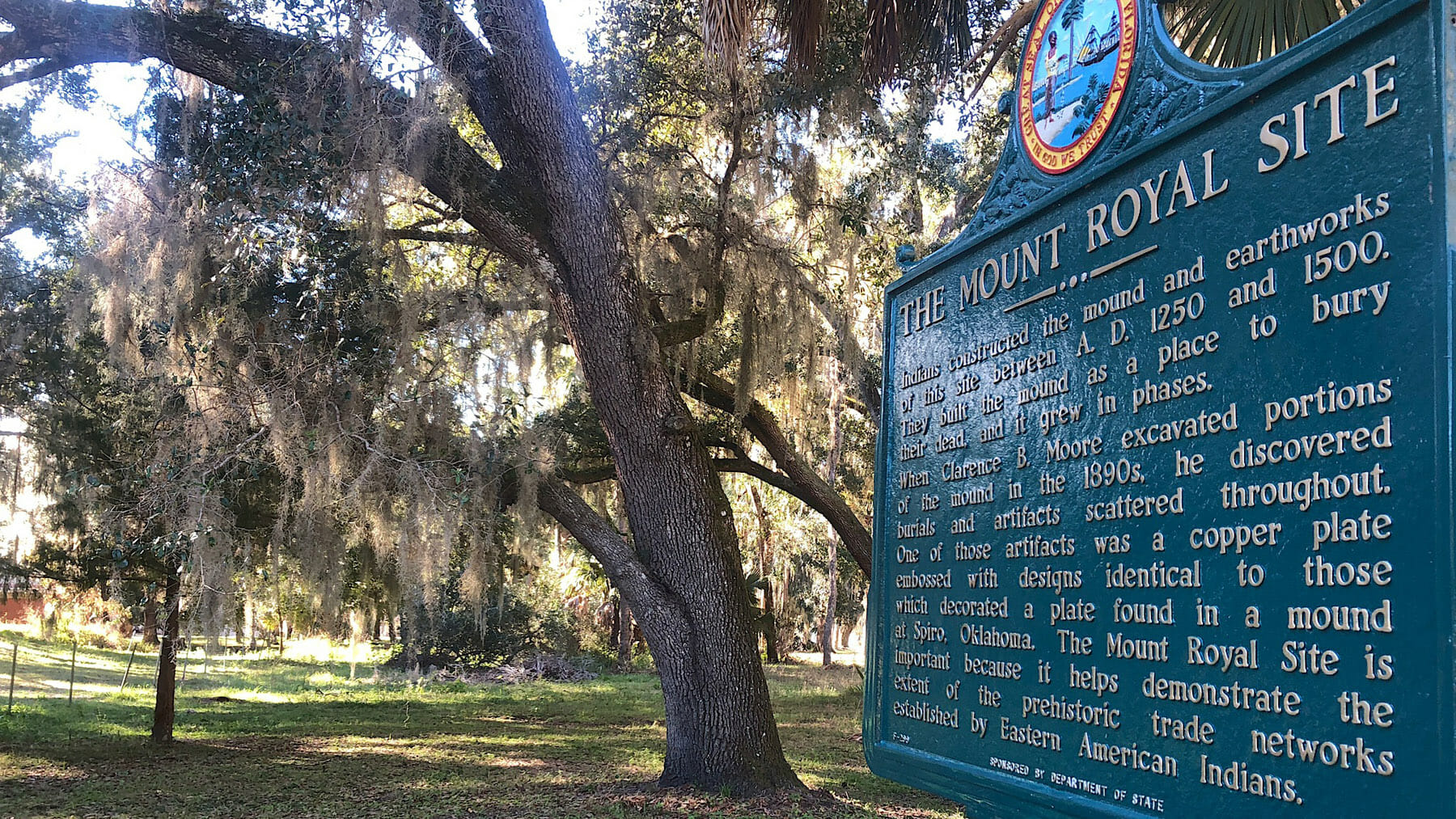 Mount Royal historic marker