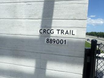 Trans-Florida Central Railroad Trail signage