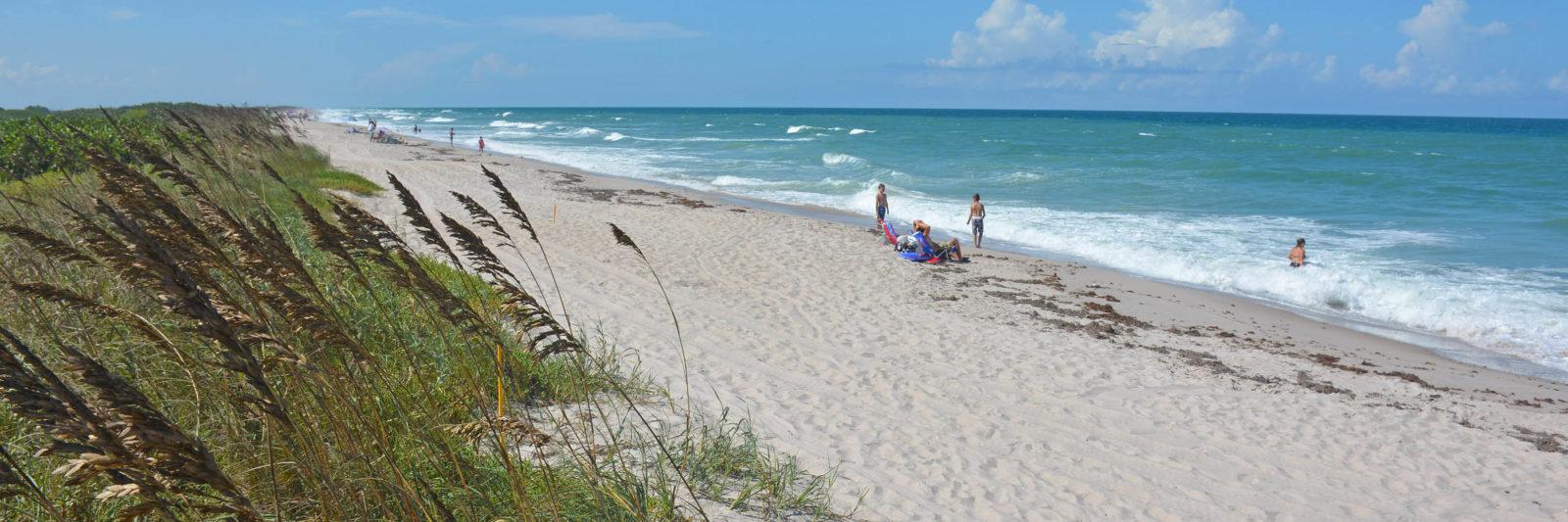 Beach along the Atlantic Ocean