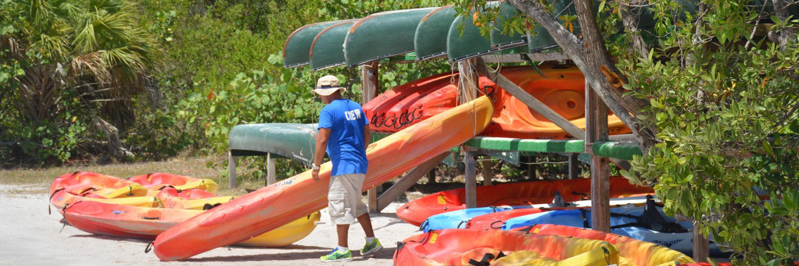 Kayak rentals Florida State Parks