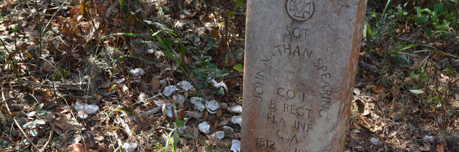Grave at Timucuan Preserve