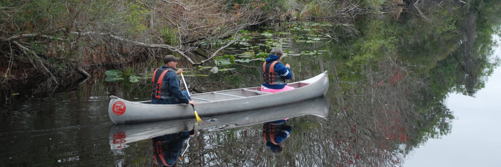 Canoeing to Lake Griffin