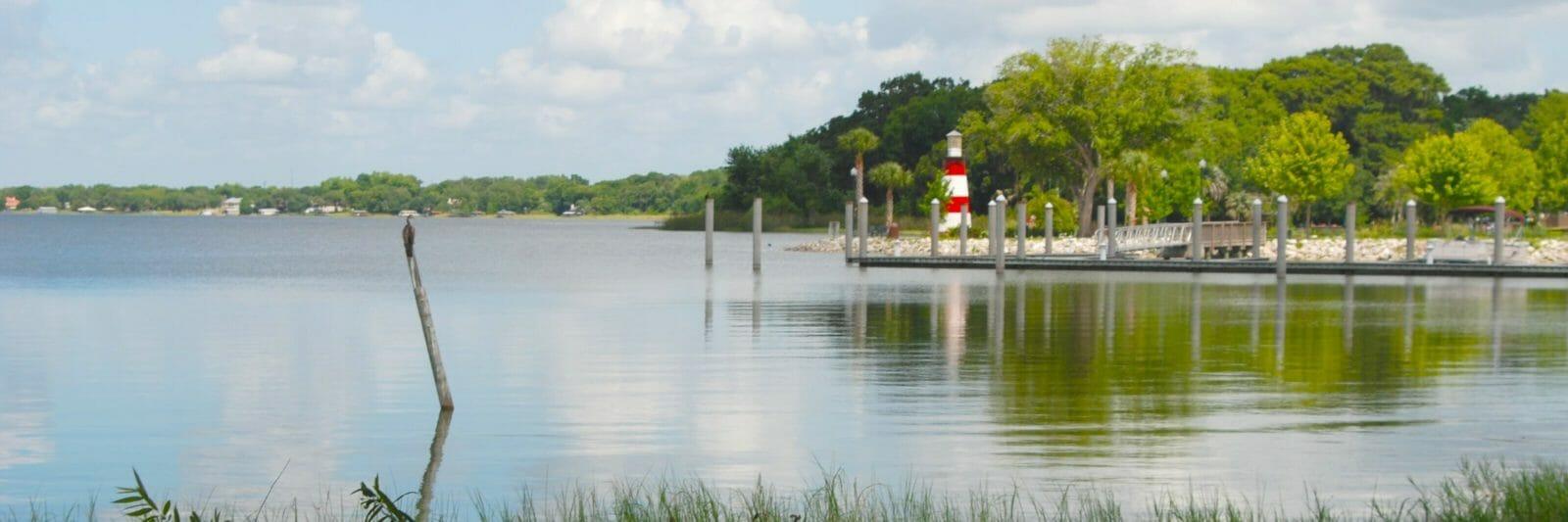Lake Dora lighthouse