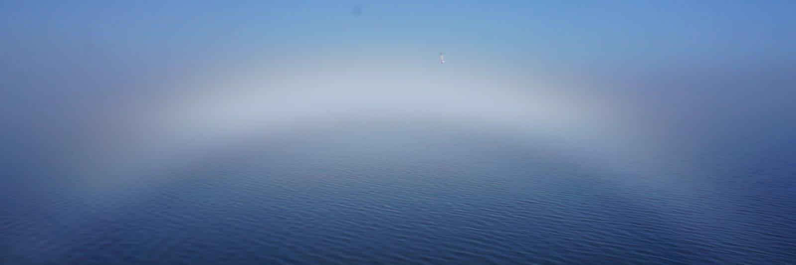 Lake Monroe fogbow