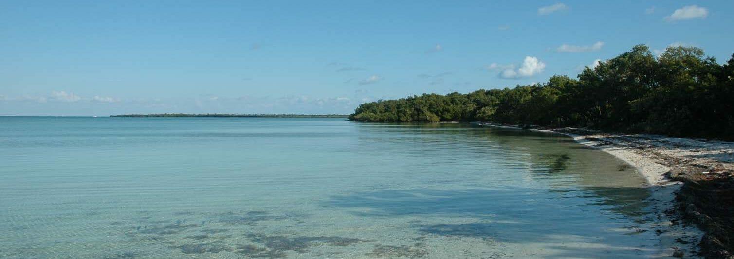 North Elliott Key and Biscayne Bay