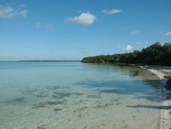 North Elliott Key and Biscayne Bay