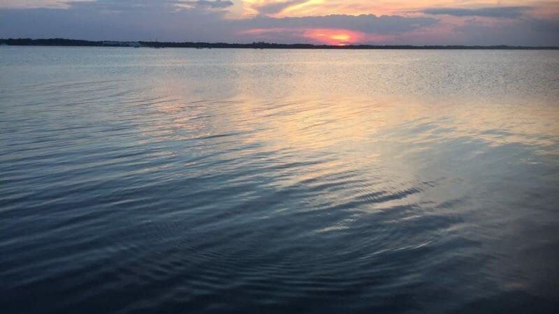Parrish Park sunset