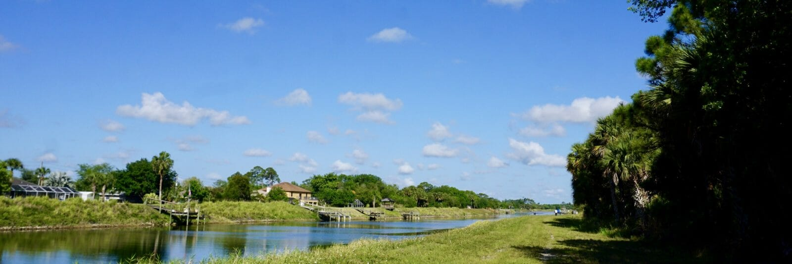 Canal in Port St Lucie