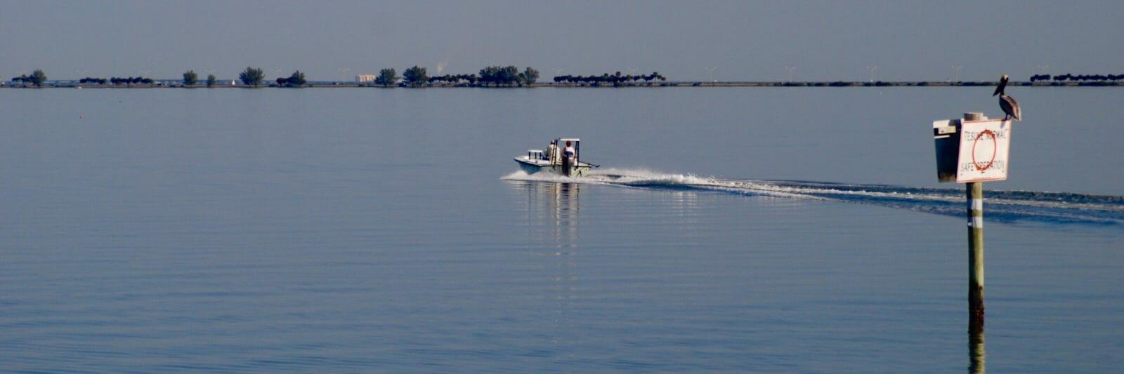 Boater on Safety Harbor