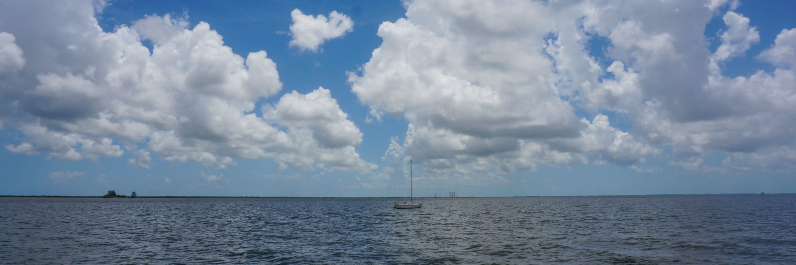 Sailboat on Indian River Lagoon