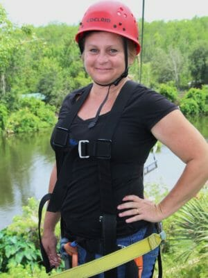 Sally White Gatorland Zip Line