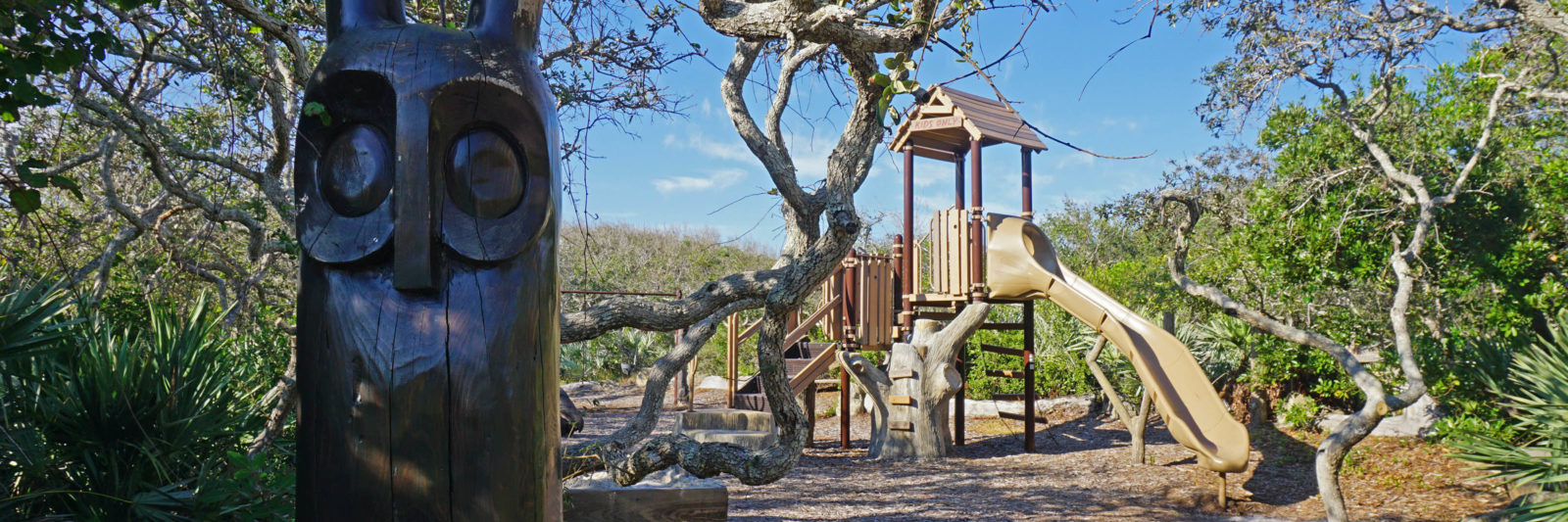 playground at Ponce Preserve