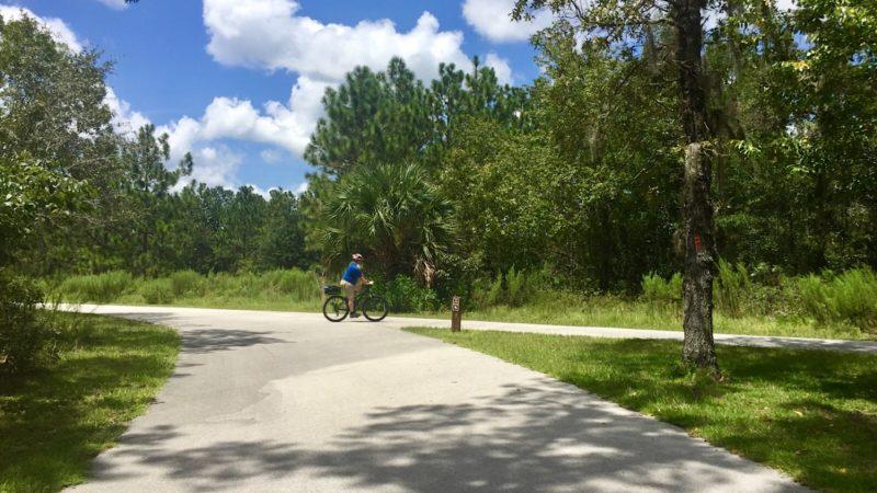 Baseline bike path