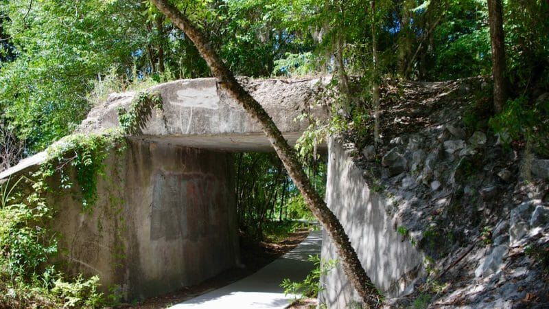 La Chua entrance
