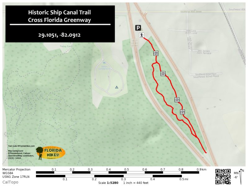 Historic Ship Canal Trail MAP