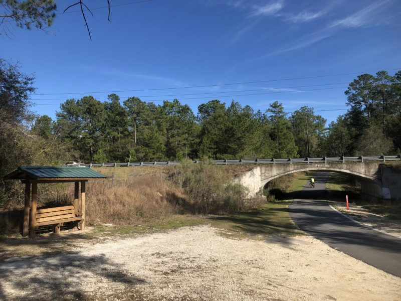 Florida Trail SW 49th Ave underpass