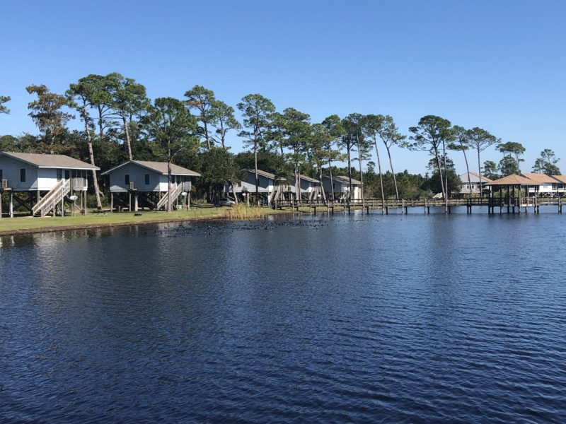 Lakeside Cabins at Gulf State Park