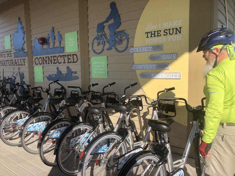 Bikeshare Gulf State Park