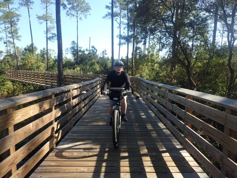 Biking Gulf State Park