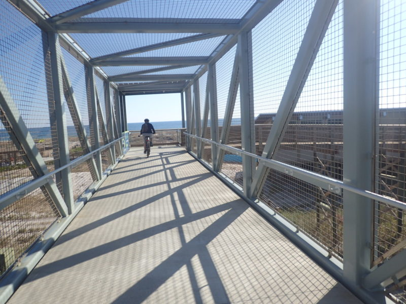 Bridge to beach Gulf State Park