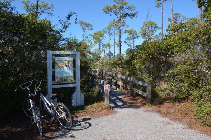Perdido Key Discovery Trail kiosk