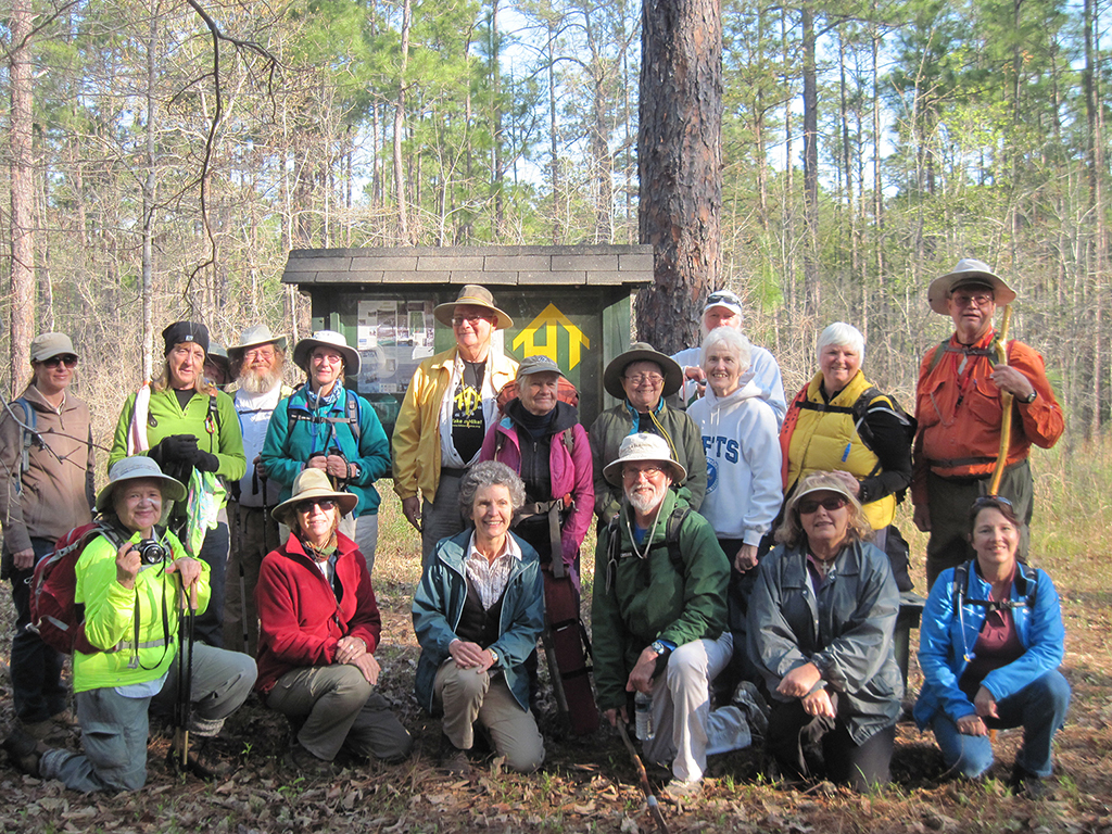 Panhandle Trace Hikers 2013