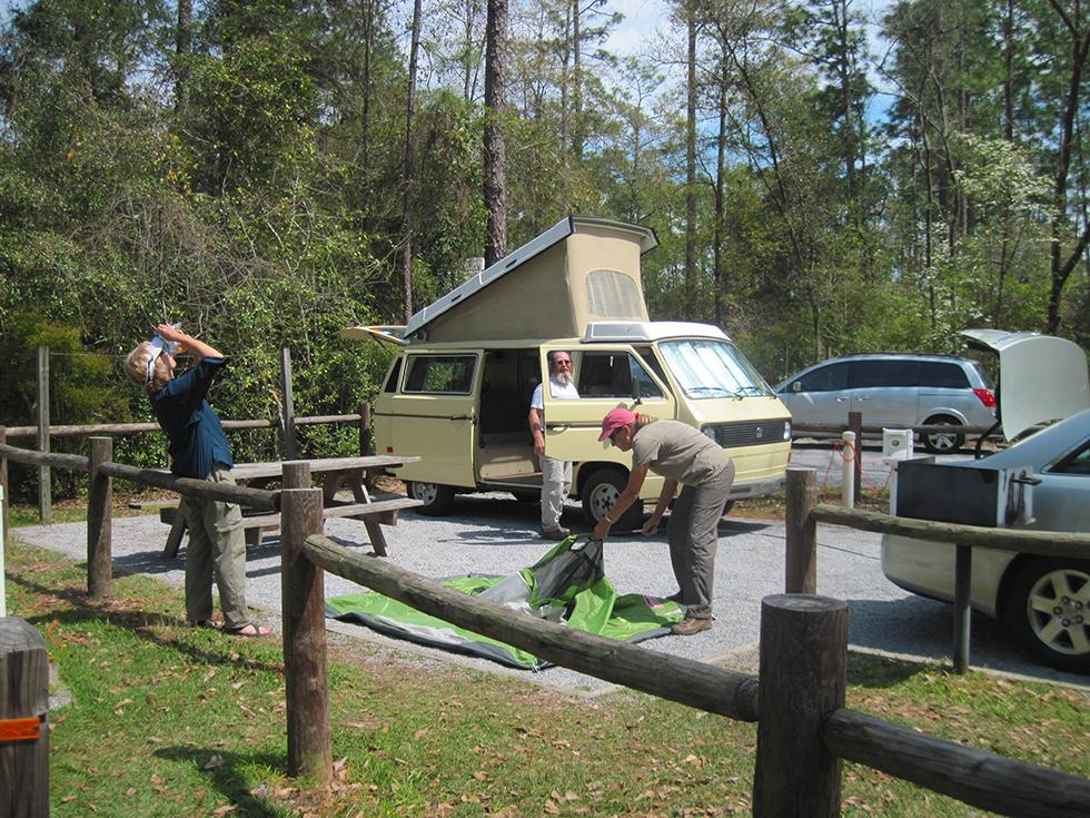 Camping at Blackwater