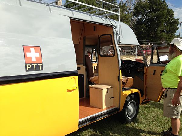 Conversion Postal Van