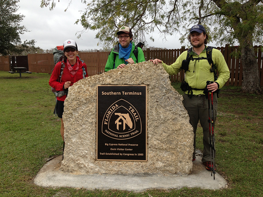 Our final three thru-hikers for the kickoff
