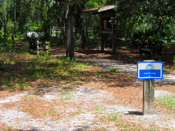 Flagler Trail at Snow Hill Road