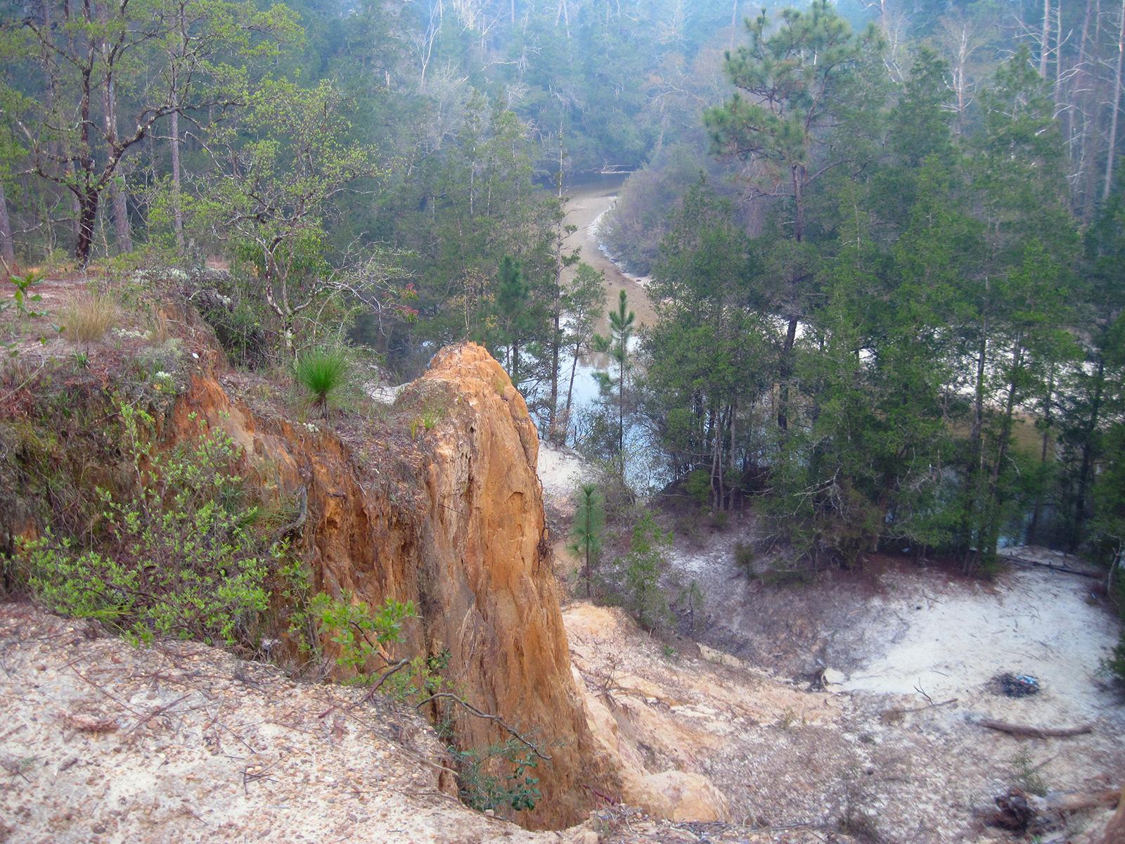 Juniper Bluffs above Juniper Creek