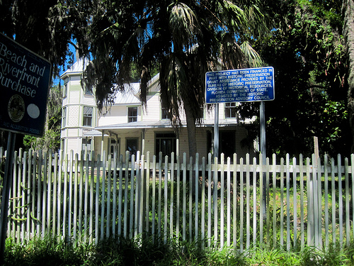 Historic home along Indian River Drive