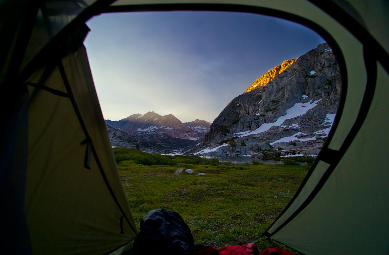 Mountain's majesty along the John Muir Trail (Jen Serena)