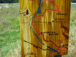 Major Florida Trail Relocation along the Kissimmee River