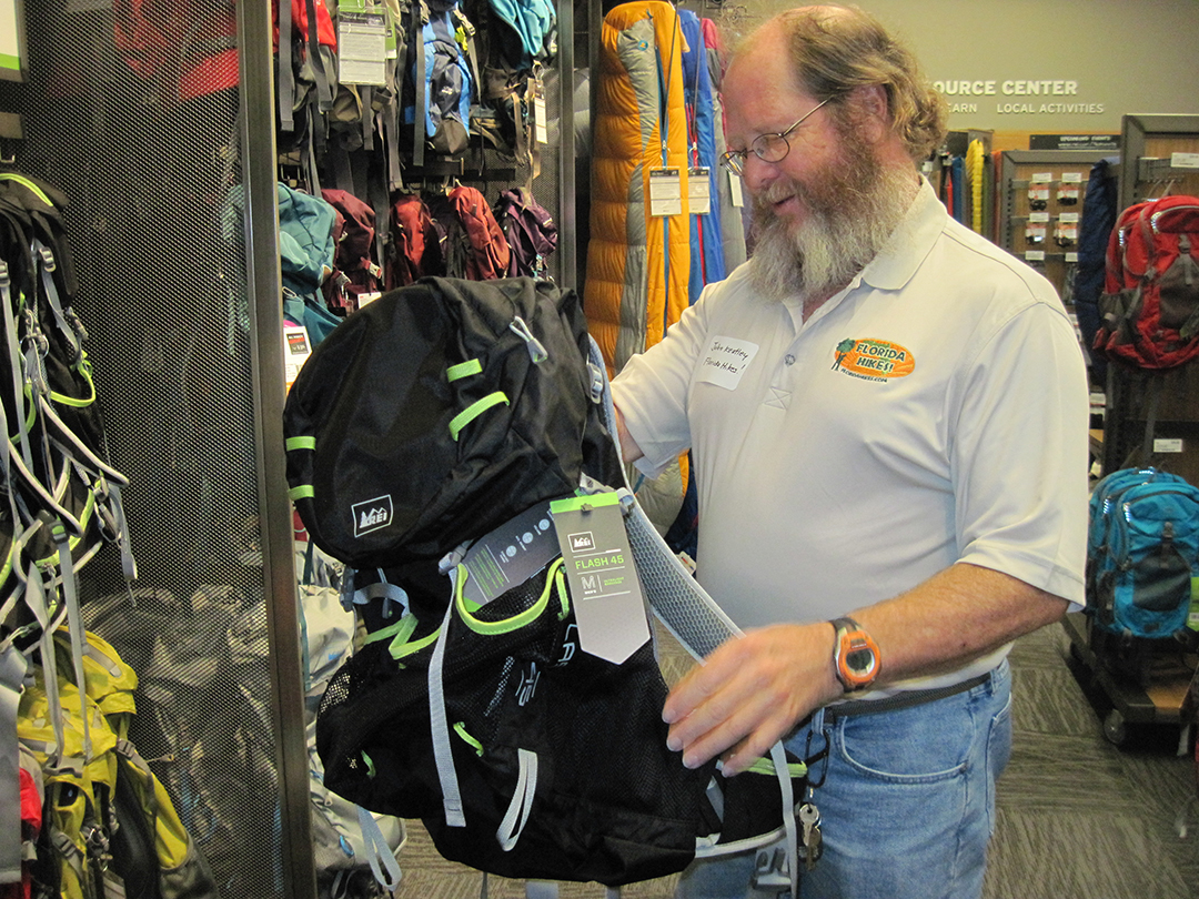 JK takes a look at a new REI backpack that's much lighter than his Osprey