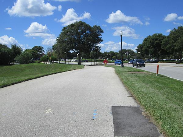 Seminole-Wekiva Trail along International Parkway